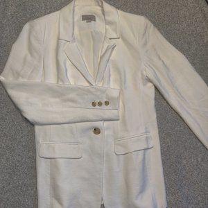 Loft white blazer